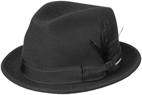 Stetson Player Woolfelt//Cashmere Filz Hut aus Wolle und Kaschmir wasserabweisend