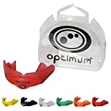 OPTIMUM Multi-X Mouthguard, Matrix Paradenti-Rosso, Senior Unisex-Adult...