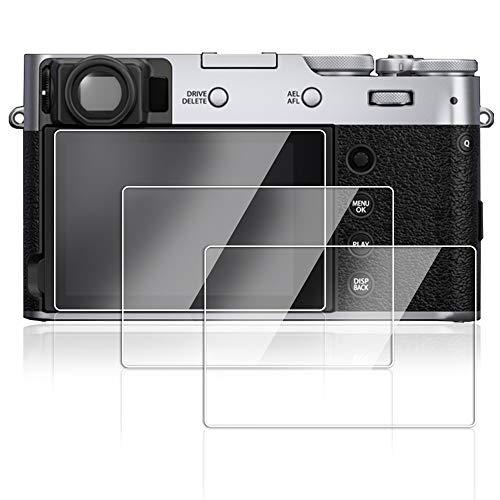 AFUNTA Bildschirmschutzfolie für Fujifilm X100V, gehärtetes optisches Glas, 9H, unsichtbar, 3 Stück
