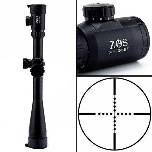 10-40x50 SFE IR SWAT Extreme Tactical Rifle Scope for Outdoor sport Hunting