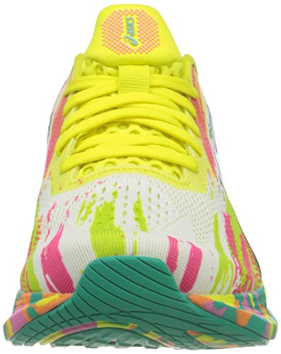 Asics Gel-Noosa Tri 13, Road Running Shoe Mujer, Hot Pink/Sour Yuzu, 39 EU