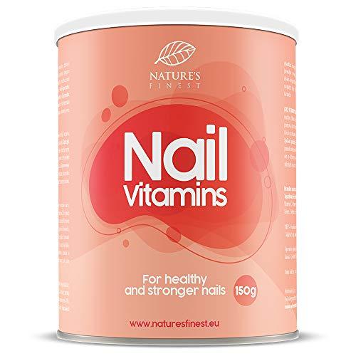 Vitamine für die Nägel 150 g | Mit Kollagen, Selen, Brennnesselextrakt und MSM | Unterstützt Gesunde und Kräftige Nägel
