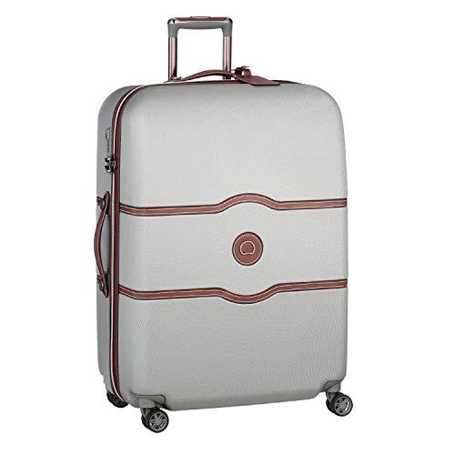 DELSEY PARIS CHATELET AIR Luxus Trolley / Koffer 77cm mit gratis Schuhbeutel und Wäschebeutel 4 Doppelrollen TSA Schloss