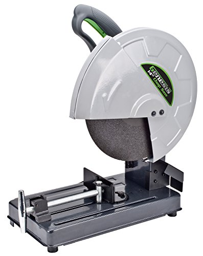 Genesis GMCS140 14' 15 Amp High Torque Motor Abrasive Chop Saw with Wheel Installed Adjustable Fence Spindle Lock and Quick Release Vise