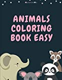 Animals Coloring Book Easy: Colouring Books Of Animals