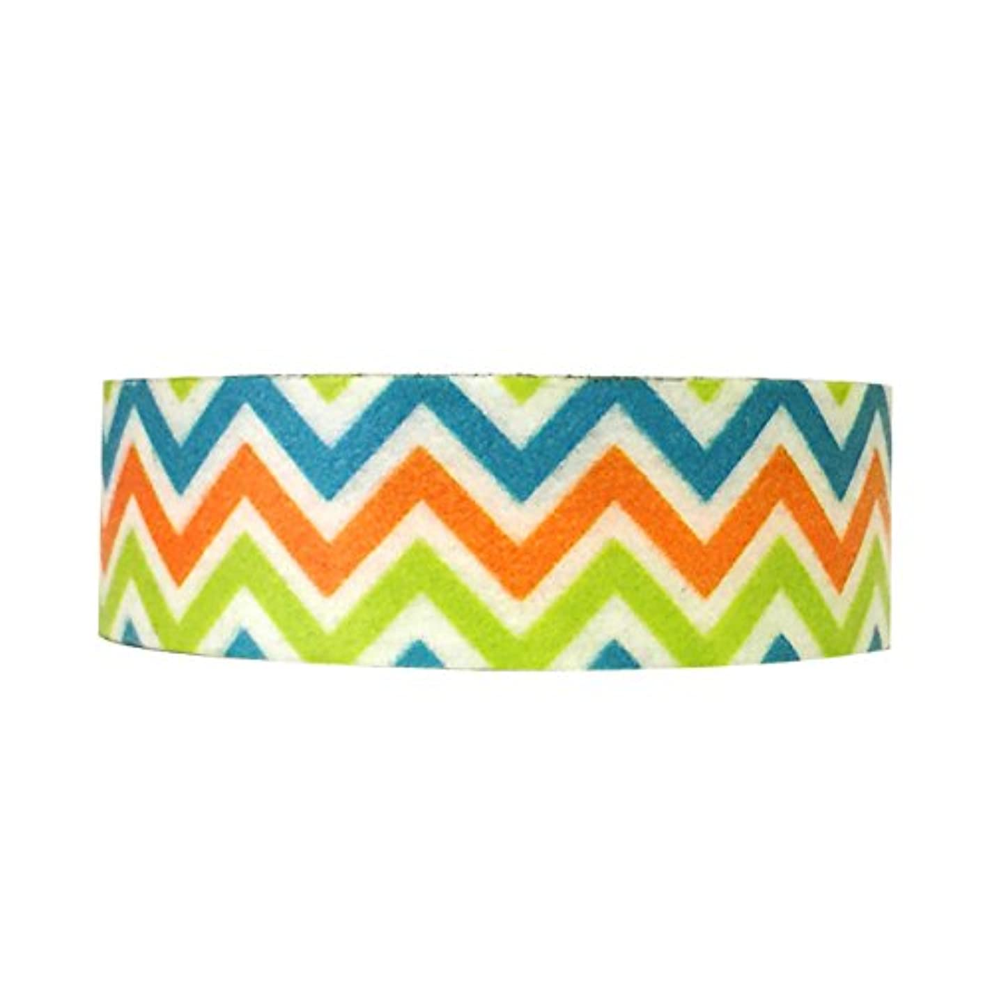 Wrapables Colorful Patterns Washi Masking Tape, Fiesta
