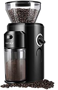 Secura Conical Burr Mill Grinder with 18 Grind Settings