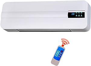 Emisores térmicos Calentador de Interior montado en la Pared, Calentador de baño de bajo Consumo, calefacción, Aire Acondicionado pequeño, calefacción y refrigeración/Control Remoto