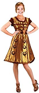 Costumes For All Occasions EL404830 Doctor Who Dalek Dress Sm Med
