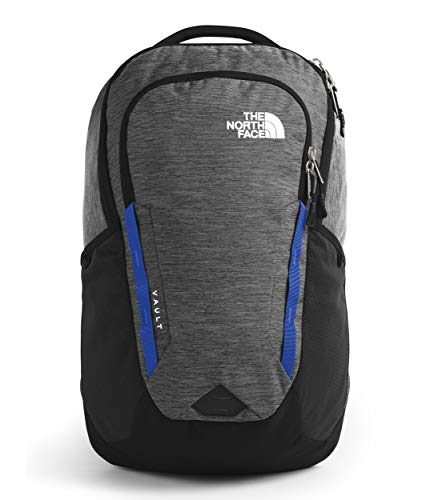 The North Face Vault Backpack, TNF Black Heather/TNF Blue, One Size