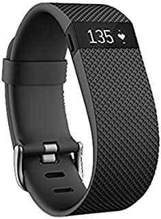 Fitbit Charge HR Wireless Activity Wristband (Black, Small (5.4 - 6.2 in))