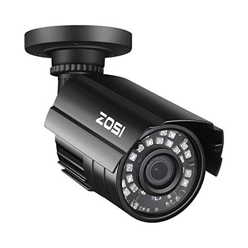 ZOSI CCTV Outdoor 1080P 4-in-1 Video Überwachungskamera Außen Wasserdicht Kamera, 3.6mm Linse, 24 IR LEDs, 20M Nachtsicht, BNC Kabelgebunden, mit OSD Taste