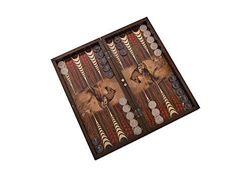 Master Games T73-Backgammon Elegance-Tavla-Big Size 50 cm x 25 cm x 7,5 cm