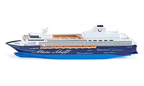 siku 1726, Kreuzfahrtschiff Mein Schiff 1, 1:1400, Metall/Kunststoff, Blau/Weiß, Nicht schwimmfähig
