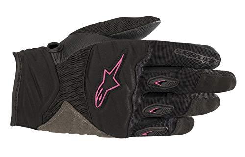 Alpinestars Motorradhandschuhe Stella Shore Gloves Black Fuchsia, Schwarz/Fuchsia, L