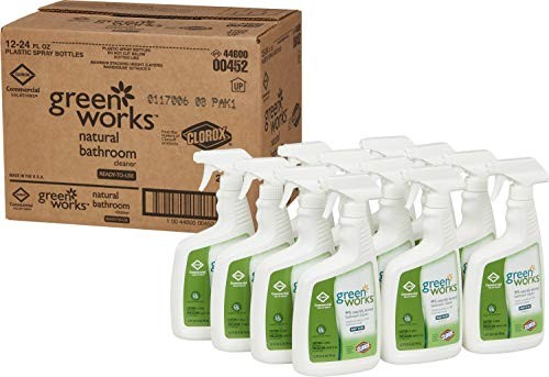 Green Works COX00452CT Bathroom Cleaner, Pack of 12