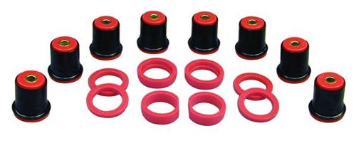 Prothane 7-225 Red Rear Control Arm Bushing Kit with Shells