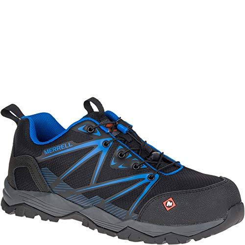 Merrell Fullbench Comp Toe Work Shoe Mens Boots J15821_10.5 - Black