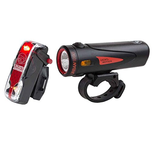 Combo Urban 1000 Trooper + Vis 180 Pro Rechargeable Bike Light Combo