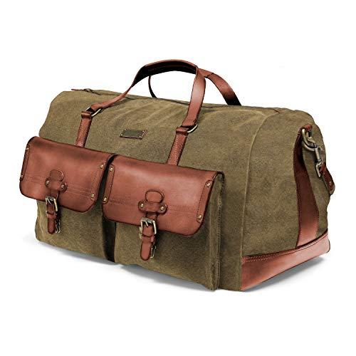 DRAKENSBERG Reisetasche im Vintage-Look, groß, XL, robust und stark, Premium-Qualität,...
