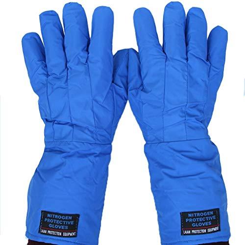 XYFJD Schutzhandschuhe Aus Flüssigem Stickstoff Ultra-Low-Heavy-Duty-Handschuhe Mit Langen Ärmeln Armschützer Gartenhandschuhe Stulpenhandschuhe Kaktushandschuhe Schutztemperatur Winterhandschuhe Fros
