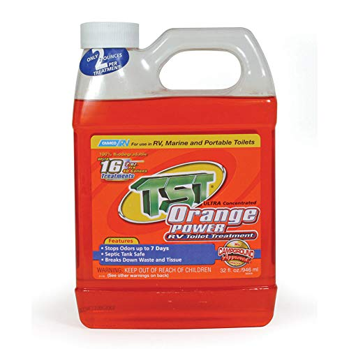Camco 41192 TST Orange Holding Tank Chemical - 32 oz