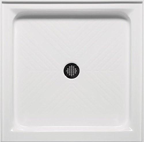 34 X34 Single Threshold Shower Base Biscuit Amazon Com