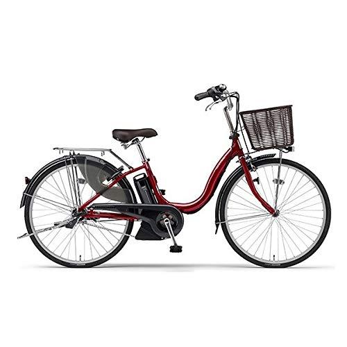 ヤマハ(YAMAHA) 電動アシスト自転車 PAS Cheer PA26CH ダークメタリックレッド2