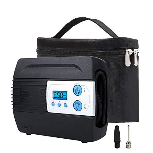 DJG Auto-Reifen-Inflator, Auto Kompressor, 12V Auto-Reifen-Automatik-Luftpumpe, Digitale LCD-Anzeige für Autos, Fahrräder, Motorräder