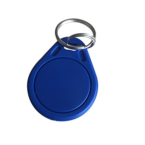 YARONGTECH MIFARE Classic 1K Key Fob Blue color pack of 100
