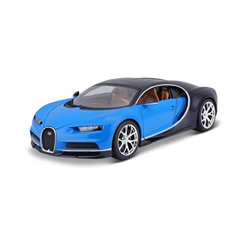 Bburago 11040B Bugatti Chiron Bleu Echelle 1/18