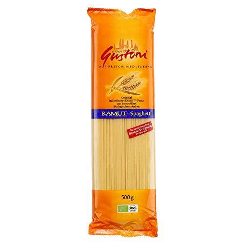 Gustoni Bio Kamut-Spaghetti, bronze (1 x 500 gr)