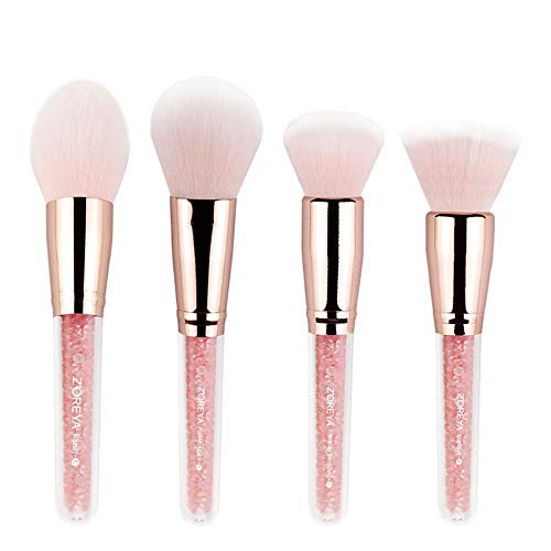 MEIYY Pinceau de maquillage Multifunctional 4Pcs Makeup Brushes Concealer Blush Powder Brush Makeup Tool Beauty Cosmetic Foundation Brush