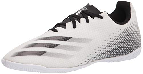 adidas X Ghosted.4 Indoor White/Black/Silver 10