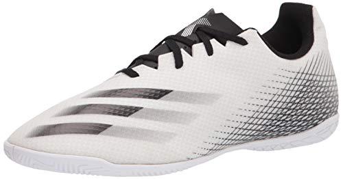 adidas X Ghosted.4 - Zapatillas de fútbol para hombre, blanco (Blanco/Negro/Plateada), 42 EU