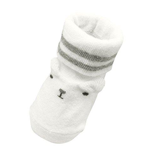 EXIU Bébé Garçon Fille Naissance Chaudes Antidérapant Chaussettes en Cotton
