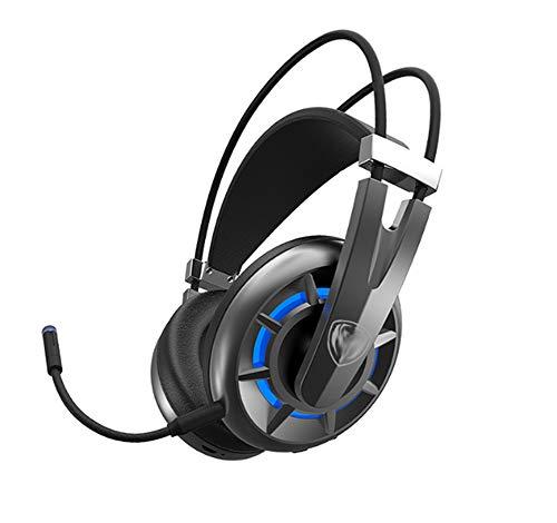 YPJKHM PS4Wireless Gaming Headset 7.1 Ordinateur de Bureau 2.4g Casque avec Microphone