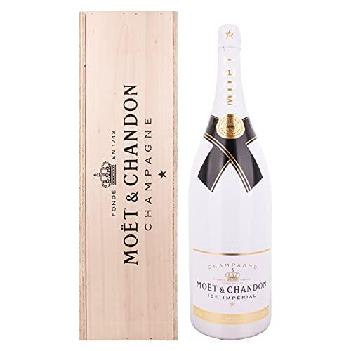 Moët & Chandon Champagne ICE IMPÈRIAL Demi-Sec 12% Vol. 3l in Holzkiste