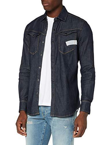 G-STAR RAW Mens Arc 3D-AW Slim Shirt, Rinsed C437-082, Medium