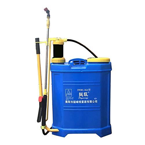 HUIJ Pulverizador Botella de Aerosol con Mochila de pulverización a presión,Pulverizador Manual de pesticidas Pulverizador Manual de 16L para Uso agrícola Mochila para fumigar
