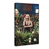 American Hip-hop Artist Bebe Rexha Baby, I'm Gonna Show You Crazy Album Cover 1 Canvas Poster Wall Art Decor Print Picture Paintings for Living Room Bedroom Decoration Frame:12×18inch(30×45cm)