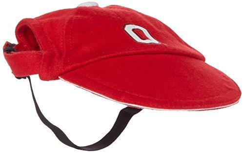 Sporty K9 Collegiate Ohio State Buckeyes Dog Cap, Medium