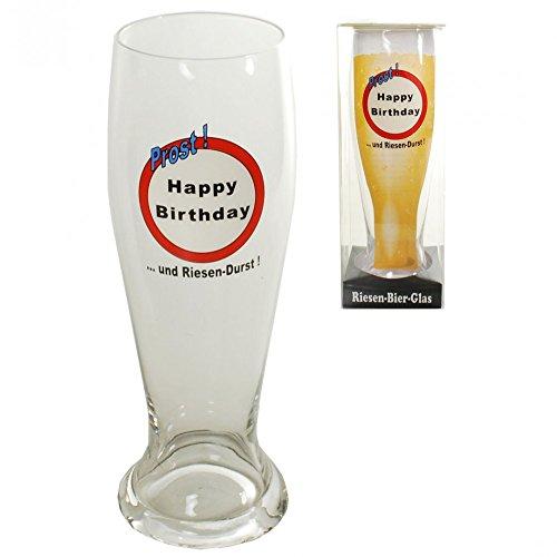 Riesen Bierglas zum Geburtstag