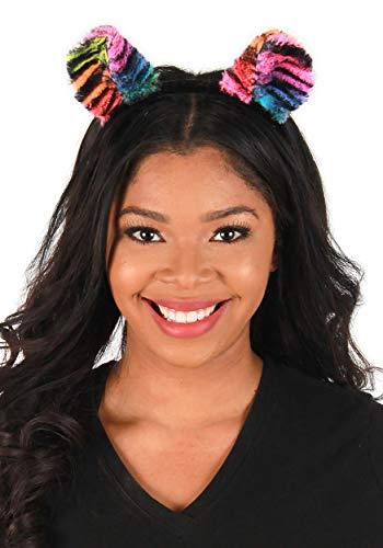 Rainbow Tiger Ears Headband