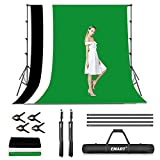 EMART Photo Video Studio Backdrop Stand Kit, 8.5x10ft Adjustable Photography Green...