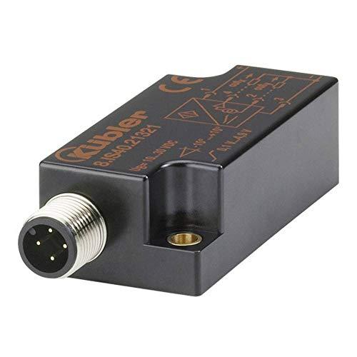 KÜBLER Neigungssensor IS40 8.IS40.21121 Messbereich: -10 - +10° Analog Strom M12, 5 polig