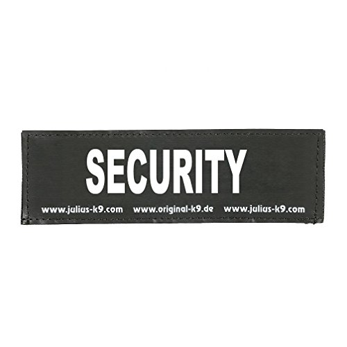 Julius K9 8151127 2 Klettsticker S. Security