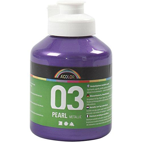 A-Color - Vernice acrilica, 500 ml, colore: Viola