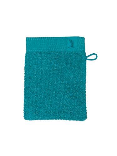 Möve New Essential gant de lavage 15 x 20 cm en 100% coton, emerald