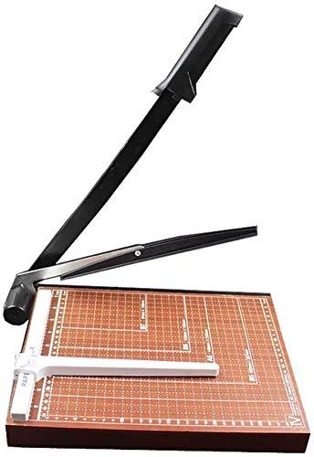 Guillotina Para Cortar Papel Cortador de papel, Estudio Foto Cortador de la tarjeta, 12' de pequeña escala cortador de papel A4 de papel de madera de la base del condensador de ajuste guillotina 8 hoj